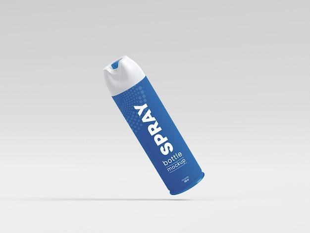 Maqueta de botella de spray