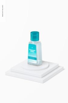 Maqueta de botella trapezoidal de 1 oz