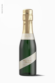 Maqueta de botella de vino de 187 ml