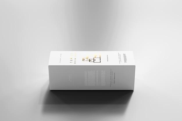 Maqueta de caja aislada