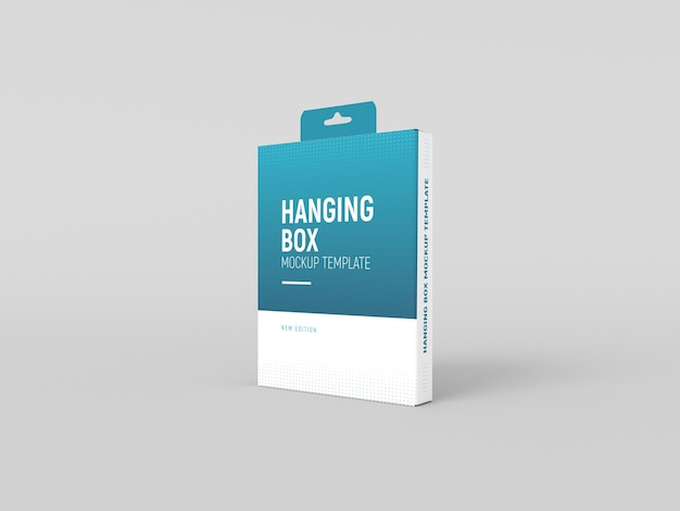 Maqueta de caja colgante