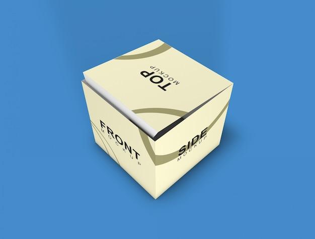 Maqueta de caja - embalaje