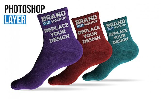 Maqueta de calcetines