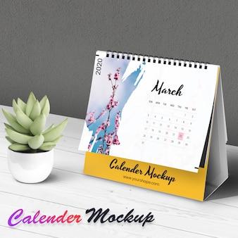 Maqueta de calendario