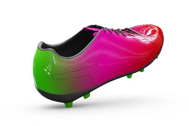 Maqueta de calzado deportivo aislado