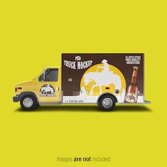Maqueta del camión de reparto