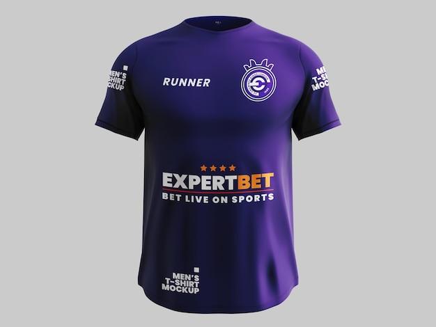 Maqueta de camiseta deportiva
