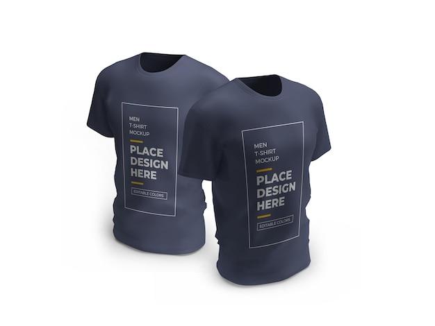 Maqueta de camiseta masculina