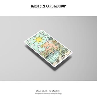 Maqueta de la carta del tarot