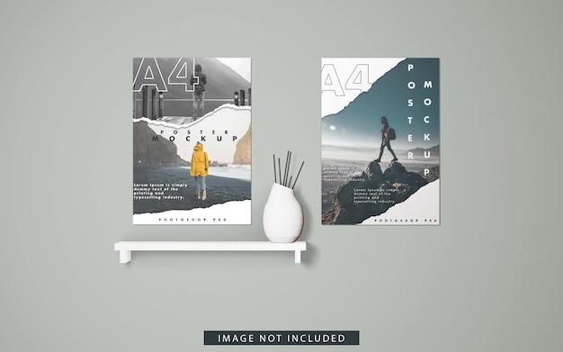 Maqueta de carteles a4