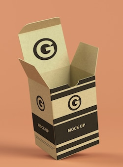 Maqueta de cartón pequeña