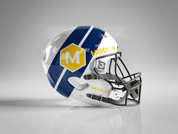 Maqueta de casco de fútbol americano