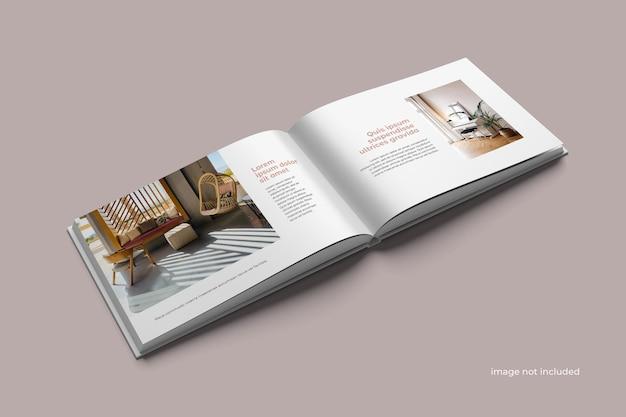 Maqueta de catálogo de paisaje