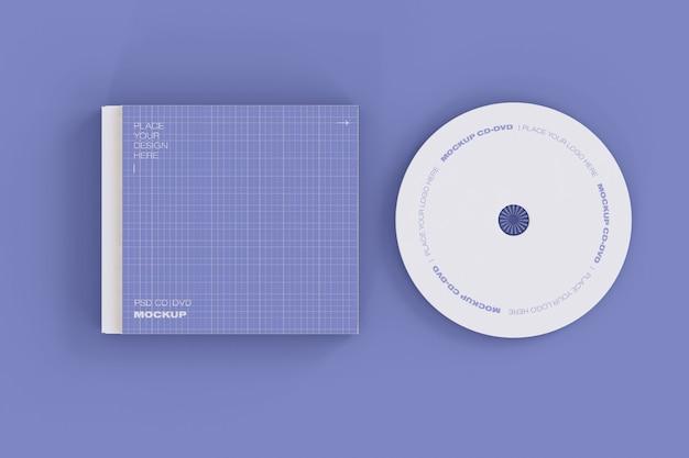 Maqueta de cd y estuche