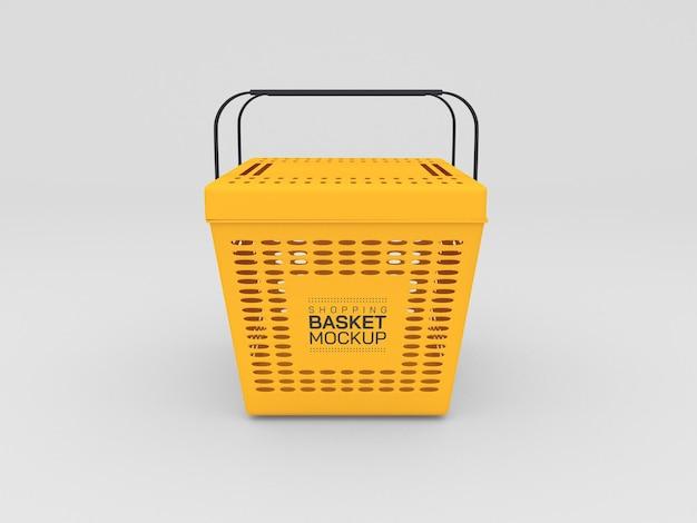 Maqueta de la cesta de la compra