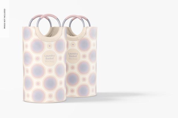 Maqueta de cestas de lavandería