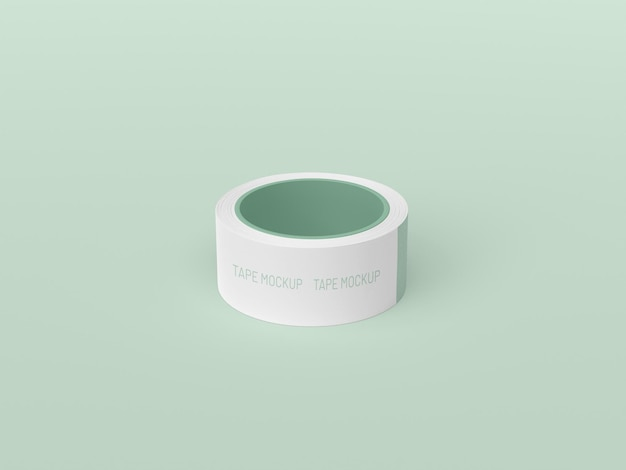 Maqueta de cinta adhesiva