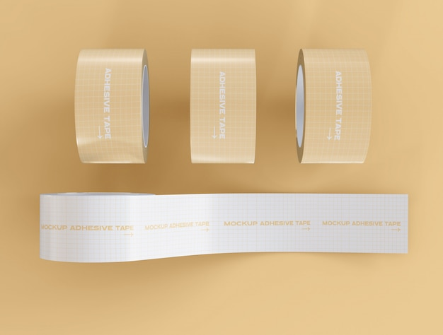 Maqueta de cintas adhesivas