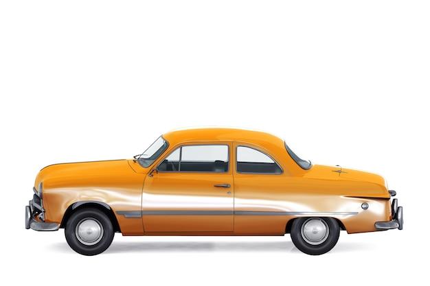 Maqueta de coche cupé retro 1949
