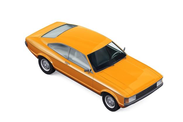 Maqueta de coche cupé retro 1972