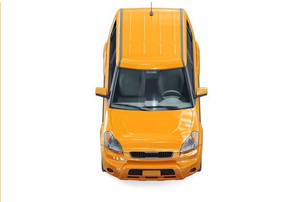 Maqueta del coche suv 4x4 2011