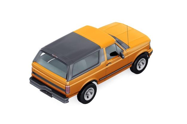Maqueta de coche suv 4x4