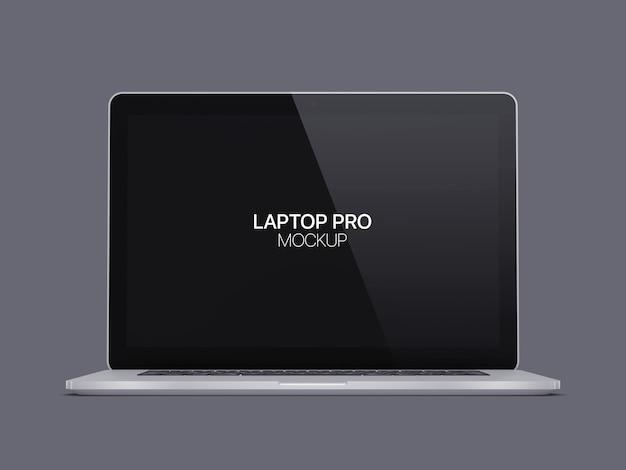 Maqueta para computadora portátil