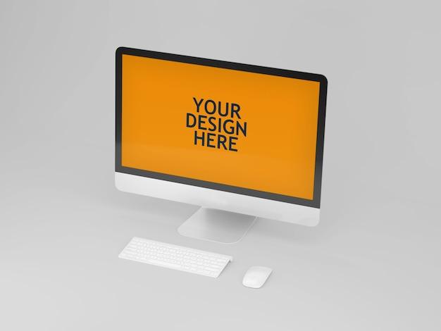 Maqueta de la computadora