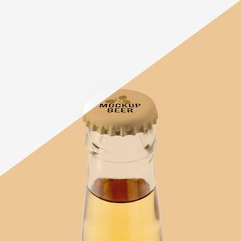 Maqueta de concepto de cerveza artesanal