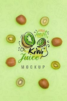 Maqueta de concepto de fruta deliciosa