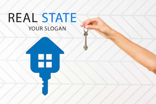 Maqueta del concepto inmobiliario