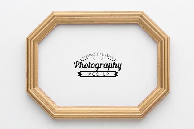 Maqueta de concepto de marco decorativo
