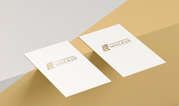 Maqueta de concepto de pop de papel