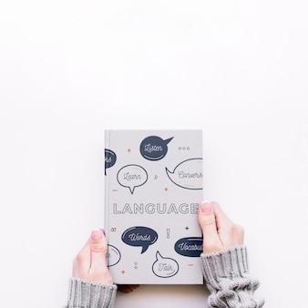 Maqueta de cover de libro