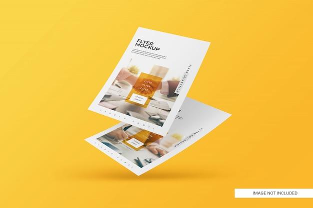 Maqueta creativa de flyer