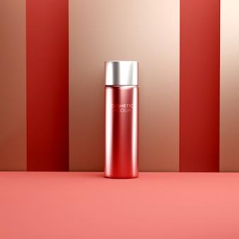 Maqueta de crema facial para el cuidado de la piel