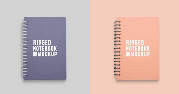 Maqueta de cuadernos