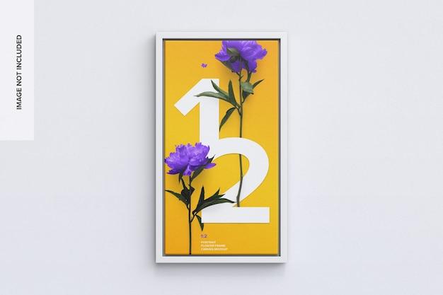 Maqueta de cuadro 1: 2