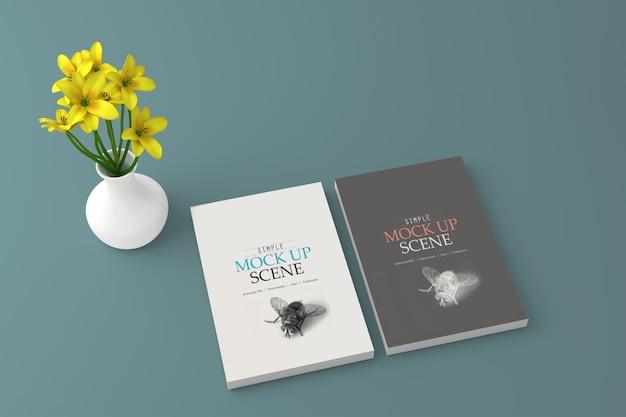 Maqueta de cubierta de libro
