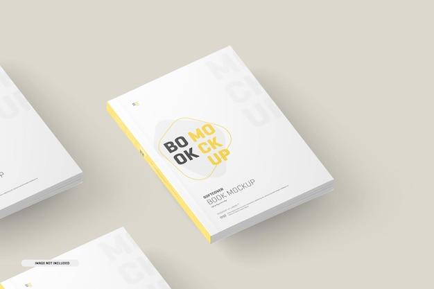 Maqueta de cubiertas de libros de tapa blanda