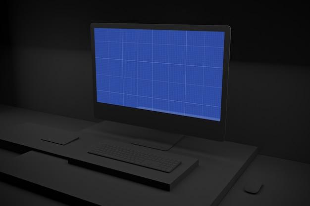 Maqueta dark computer pro