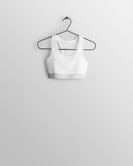 Maqueta de diferentes partes de la ropa.