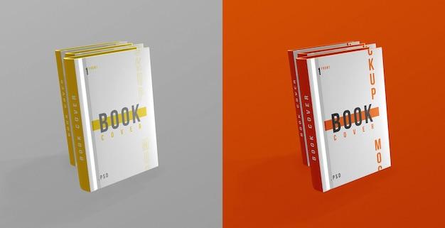 Maqueta de diseño de portada de libro psd