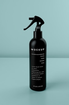 Maqueta de diseño de spray cosmético