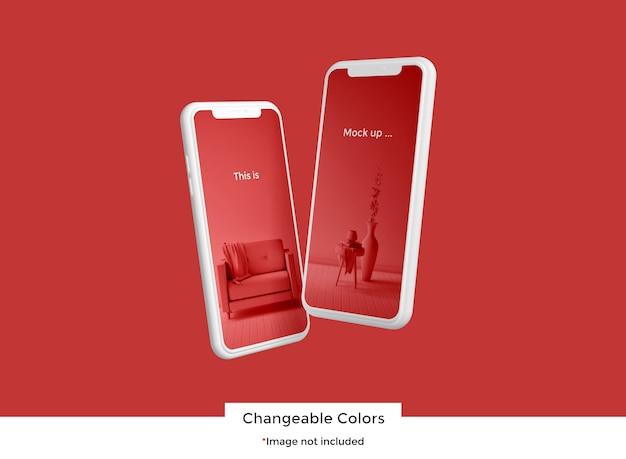 Maqueta de dispositivo 3d