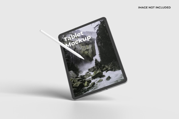 Maqueta de dispositivo de tableta