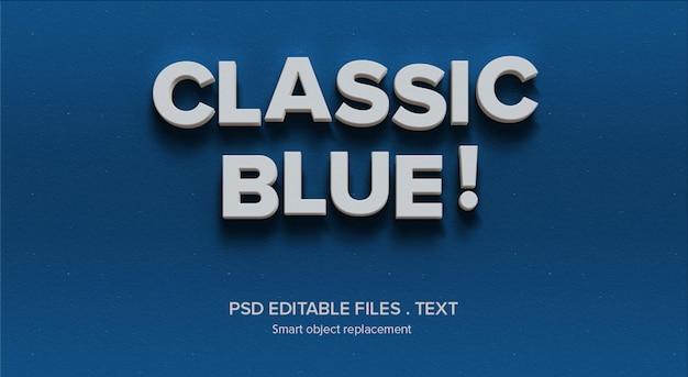 Maqueta de efecto de estilo de texto 3d personalizado