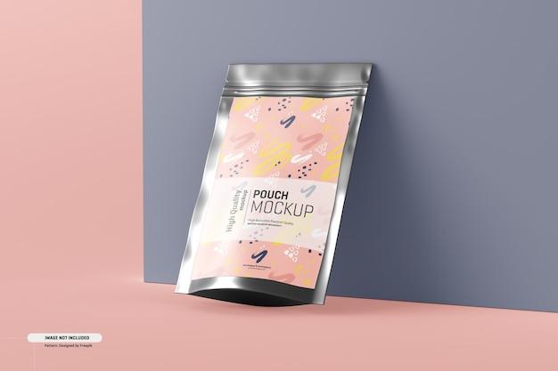 Maqueta de empaque de bolsa de suplemento alimenticio