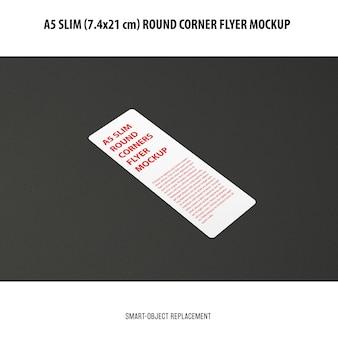 Maqueta de flyer a5 slim