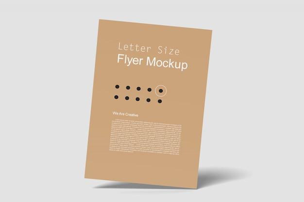 Maqueta de flyer